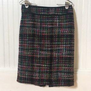 Talbots Tweet Multicolored Pencil Skirt - 4